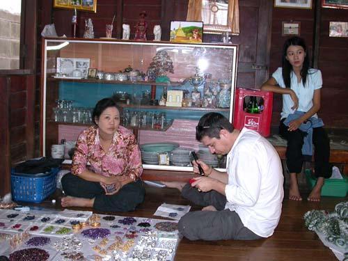 Le marché aux Jades de Mae Sot