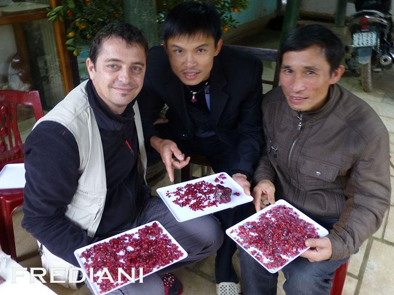 Luc Yen et ses spinelles