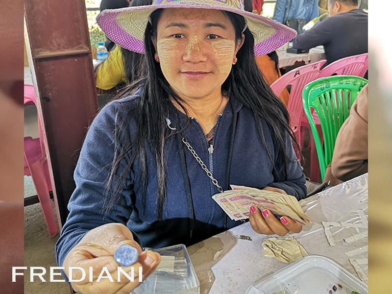 Mogok, Lisu Market et les gemmes rares