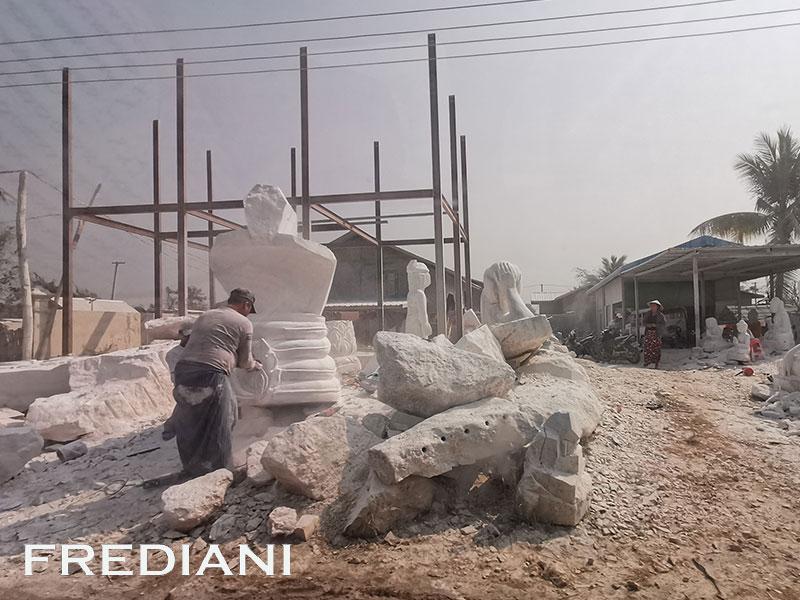 Les sculpteurs de marbre