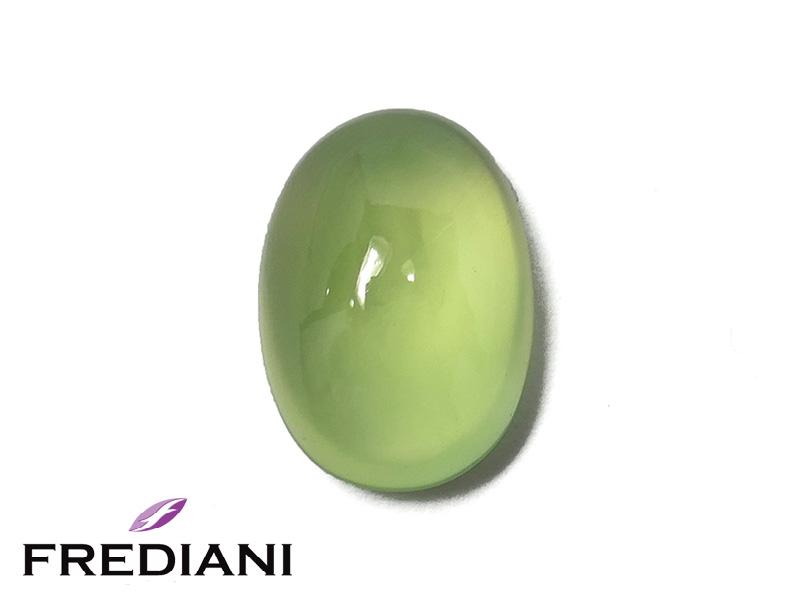 Prehnite ovale cabochon naturelle