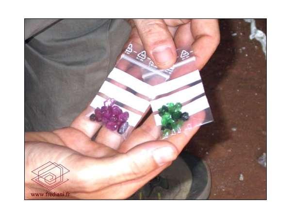 Gisement artisanal à Ngombeni
