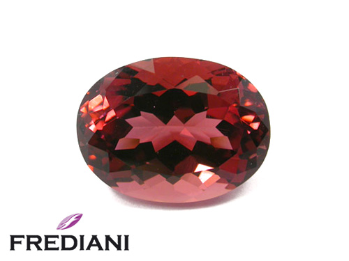 Tourmaline rosé ovale naturelle