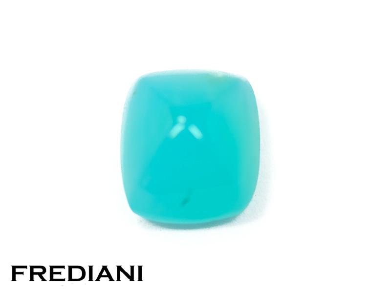 Opale bleue pain de sucre naturelle