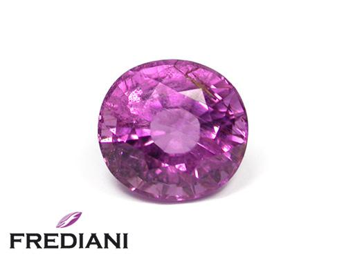 Tourmaline violette ovale naturelle