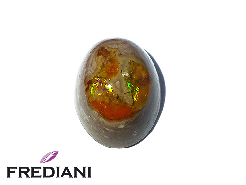 Opale matrix ovale naturelle