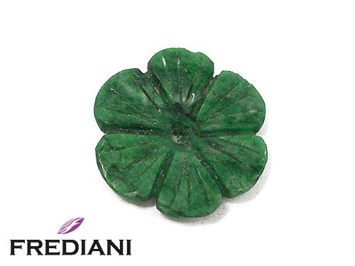 Fleur en Jade naturel