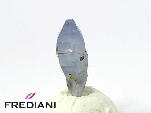 Cristal de saphir bleu naturel