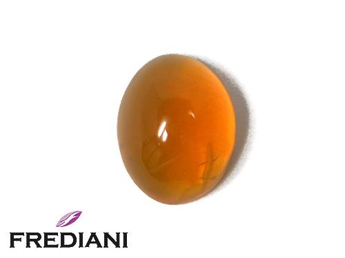 Opale de feu ovale cabochon naturelle