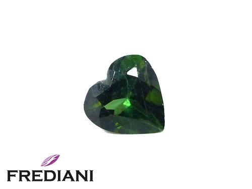 Tourmaline verte coeur naturelle