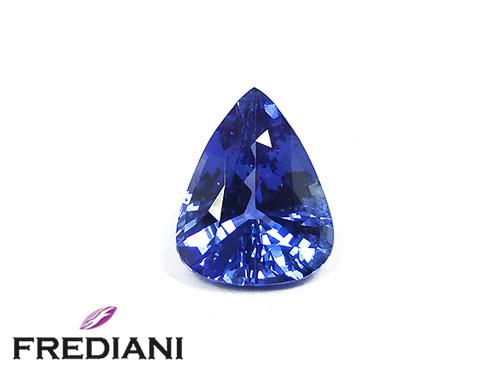 Saphir bleu poire