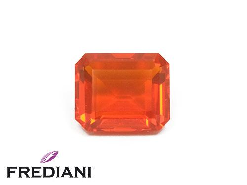 Opale de feu rectangulaire naturelle