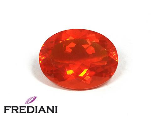 Opale de feu ovale naturelle