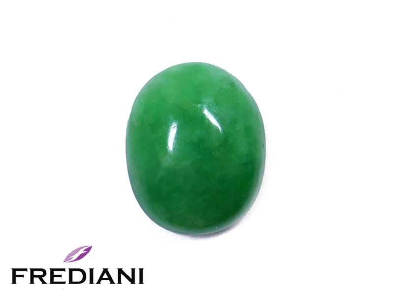 Jade Jadeïte cabochon naturel