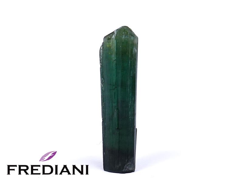 Cristal de tourmaline verte naturelle