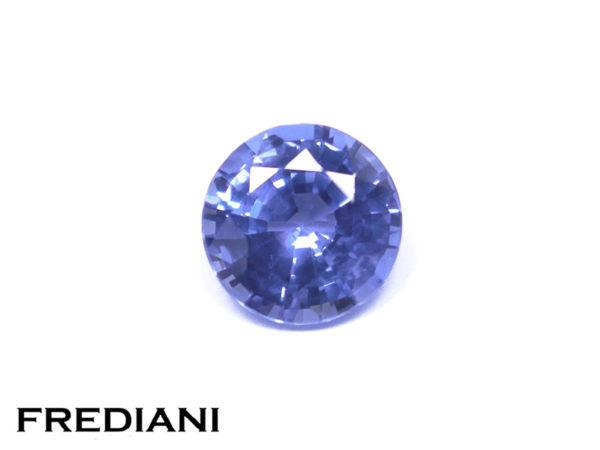 Saphir bleu rond