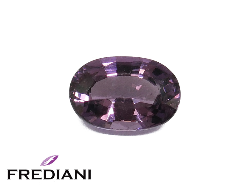 Spinelle violet ovale naturel