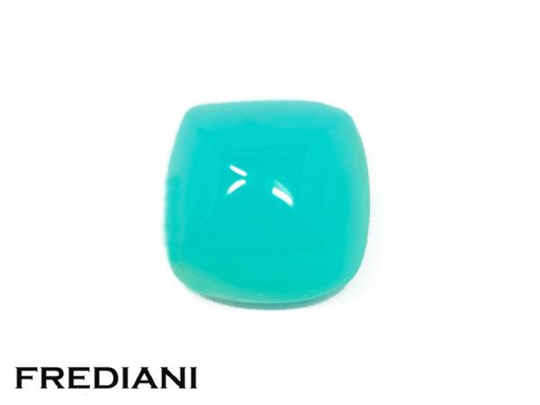 Opale bleue pain de sucre cabochon naturelle