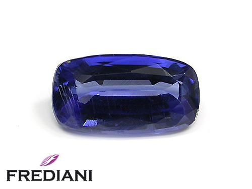 Cyanite coussin naturelle