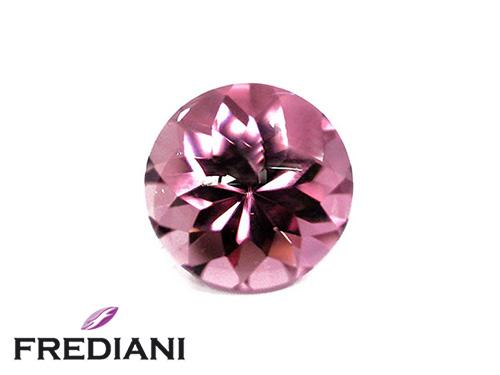 Tourmaline rose ronde suiffée naturelle