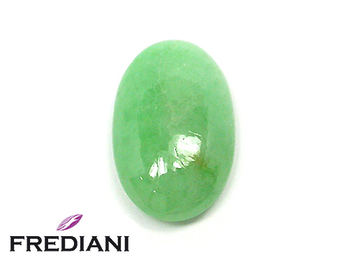 Jade Jadeïte cabochon naturel certifié