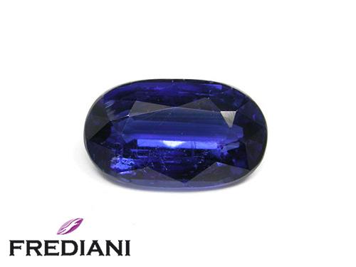 Cyanite ovale naturelle