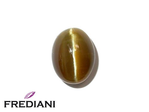Opale oeil de chat ovale cabochon naturelle
