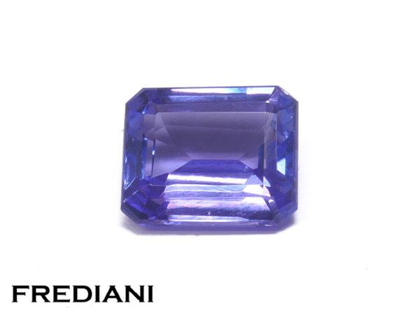 Tanzanite rectangulaire